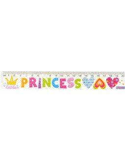 """Линейка 1Вересня 20 см """"Little Princes"""" (370502) [5056137192236]"""