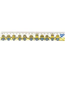 """Линейка YES 20 см """"Minions"""" (370500) [5056137192212]"""