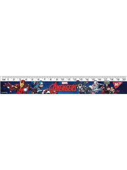 """Линейка YES 20см """"Marvel"""" (370562) [5056137175369]"""