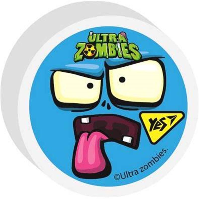 """Фото Ластик фигурный YES """"Zombie"""", 2 диз. микс (560512) [5056137184200]"""