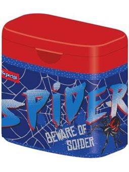 """Точилка 1Вересня подвійне з кришкою """"Spider"""""""