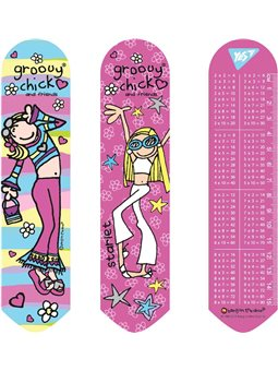 """Закладка 2D YES """"Groovy Chick"""" (707386) [5056137178360]"""