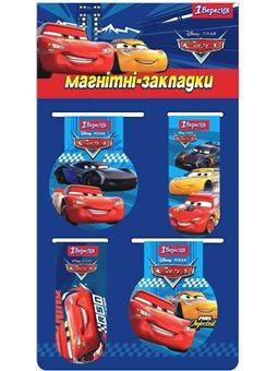 """Закладки магнитные 1Вересня """"Cars"""" (707391) [5056137170333]"""
