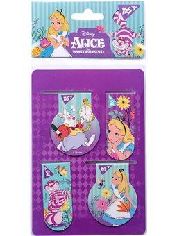 "Закладки магнитные YES ""Alice"", 4 шт (707396) [5056137177530]"