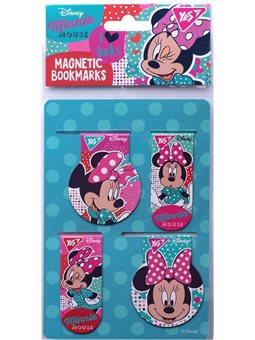 """Закладки магнитные YES """"Minnie Mouse"""", 4 шт (707399) [5056137170371]"""