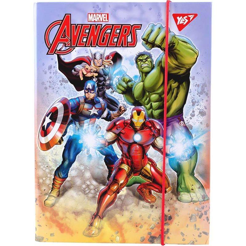 """Фото Папка для тетрадей YES картонная В5 """"Marvel"""" (491897) [5056137178506]"""