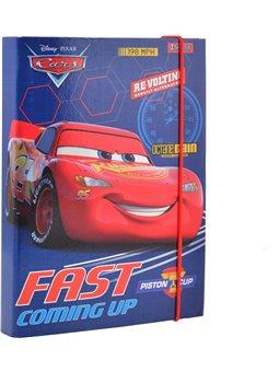 """Папка для тетрадей картонная В5 """"Cars"""" (491673) [5056137193523]"""