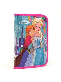 """Папка для тетрадей пласт. на молнии В5 """"Frozen"""" (491369) [5056137112081]"""