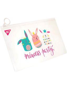 """Папка-конверт YES на молнии Check/Travel """"Princess party"""" (491706) [5056137148363]"""