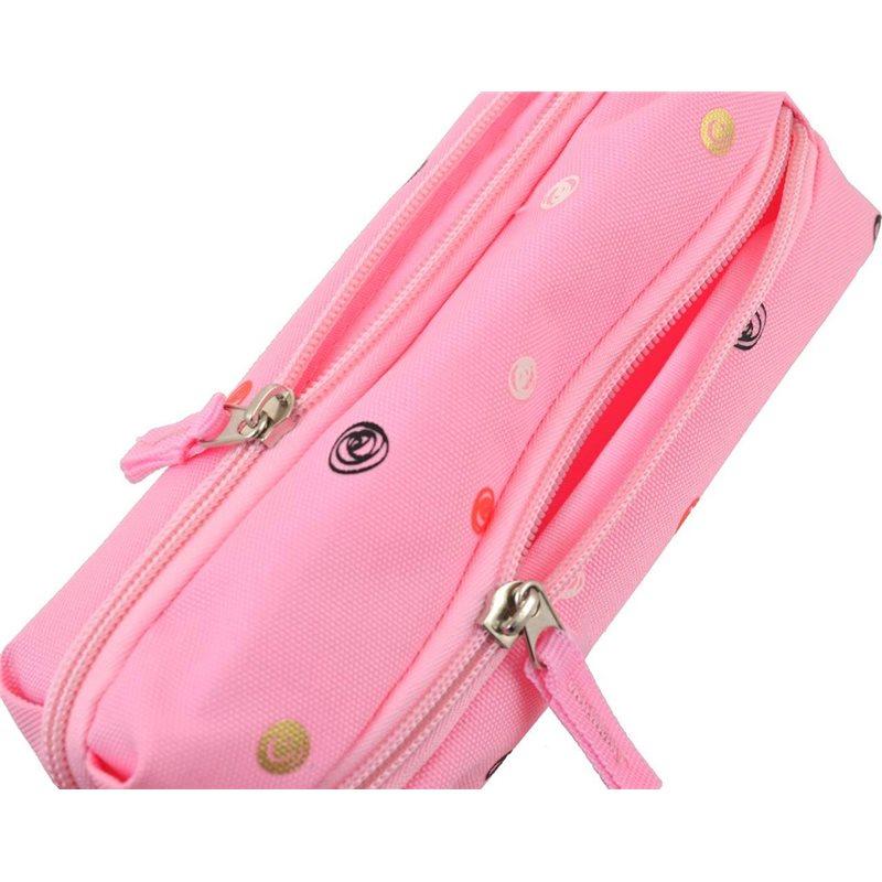 """Фото Пенал мягкий YES TP-07 """"Dots pink"""" (532375) [5056137147373]"""