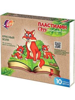 """Пластилин """"Зоо""""(""""Мини"""") 10 цв. 150 г 29С 1721-08 (540576) [4601185014897]"""