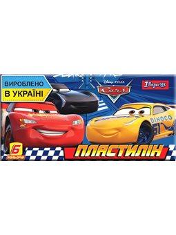 """Пластилин 1Вересня 6 цв. """"Cars"""", Украина (540549) [4823091909078]"""