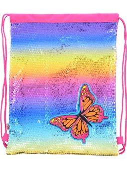 Сумка-мешок YES DB-11 Butterfly, 45*35 (555511) [5056137128174]