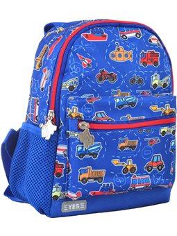 Рюкзак детский YES K-16 Funny cars, 22.5*18.5*9.5 (555070) [5056137106509]