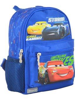 Рюкзак детский 1 Вересня K-16 Cars, 22.5*18.5*9.5 (554764) [5056137119141]