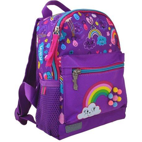 Рюкзак детский 1 Вересня K-16 Rainbow, 22.5*18.5*9.5 (554762) [5056137119134]
