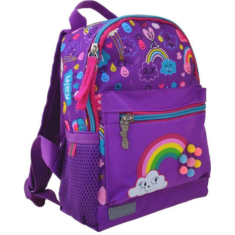 Фото Рюкзак детский 1 Вересня K-16 Rainbow, 22.5*18.5*9.5 (554762) [5056137119134]