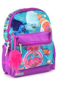 Рюкзак детский 1 Вересня K-16 Trolls, 25.5*19.5*6.5 (554367) [5056137101771]