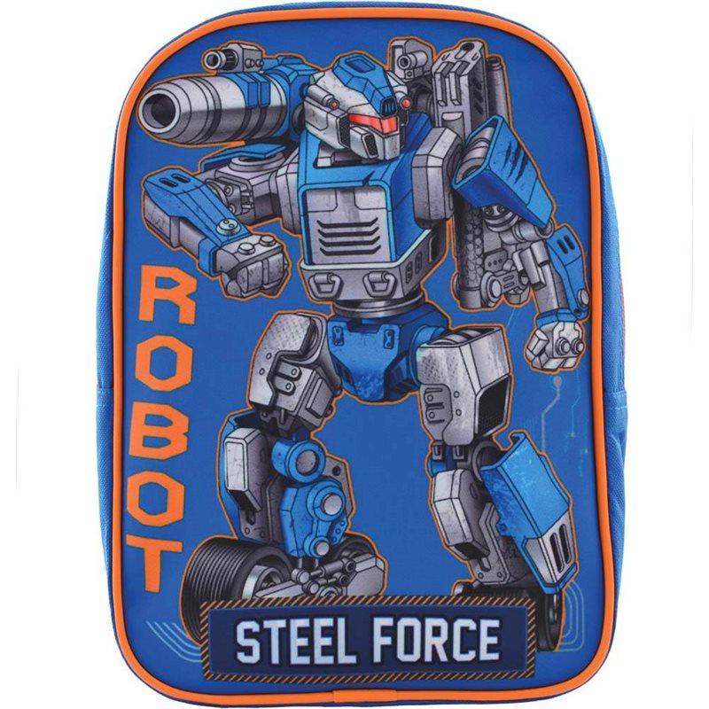 """Фото Рюкзак детский 1 Вересня K-18 """"Steel Force"""" (556427) [5056137133123]"""