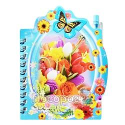 Блокнот детский HF-805 цветы