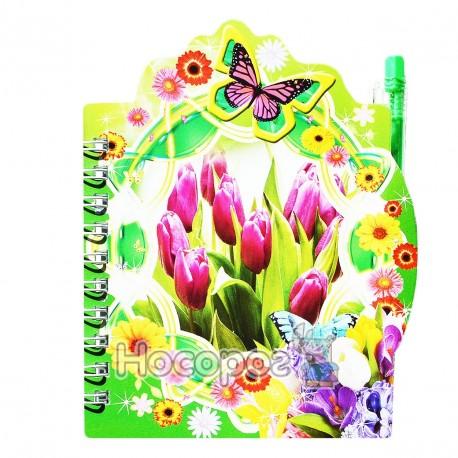 Фото Блокнот детский HF-805 цветы