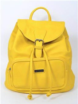Сумка-рюкзак YES, желтый , 31*12*30см (553082) [5009075530820]