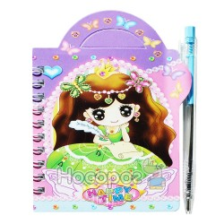 Блокнот детский HF-808 девочка