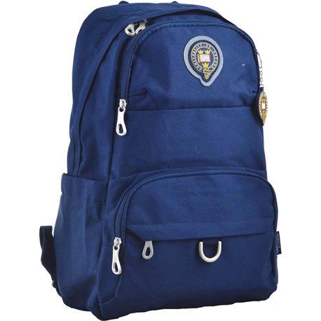 Рюкзак молодежный YES OX 355, 45.5*29.5*13.5, синий (555632) [5056137122530]