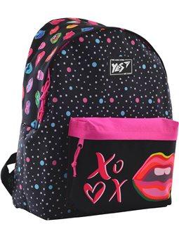 """Рюкзак молодежный YES ST-17 """"Pink Kiss"""" (556617) [5056137146772]"""
