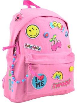 Рюкзак молодежный YES ST-32 Smiley World, 40.5*31.5*14 (555547) [5056137123766]