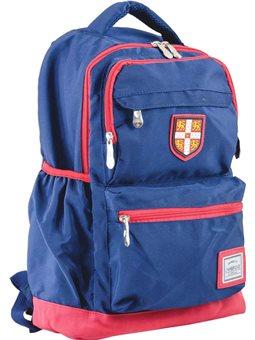 Рюкзак подростковый YES CA 097, синий, 28*45*16 (554036) [5060487835736]