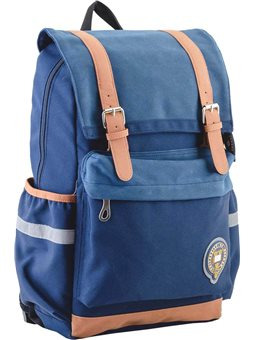 Рюкзак подростковый YES OX 301, синий, 28*42*13 (554000) [5060487834838]