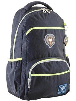 Рюкзак подростковый YES OX 313, черный, 31*47*14.5 (554078) [5060487835040]