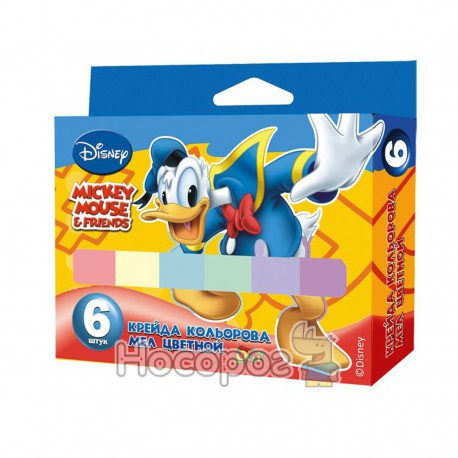 Мел в наборе 6 цветов Disney OL-014