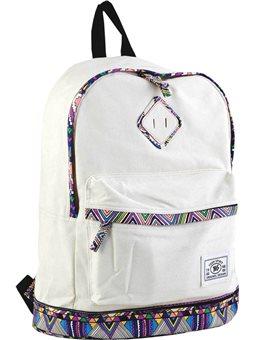 Рюкзак подростковый YES ST-33 Ethiopia beige, 40.5*27.5*16 (553562) [5060487830625]