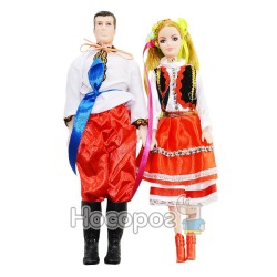 """Кукла """"Оксанка и Ваня"""" 080101"""