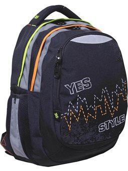 "Рюкзак подростковый YES Т-22 ""Pulse"", 40*34*24см (552620) [5009075526205]"