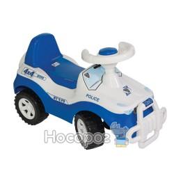 Машинка для катания джипик синий 105