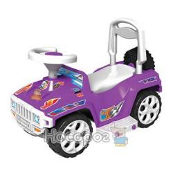 Машинка для катания ОРИОНЧИК фиолетовый 419