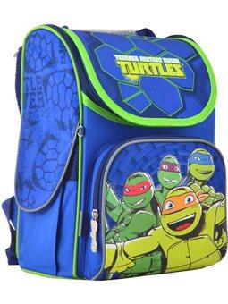 Рюкзак школьный каркасный 1 Вересня H-11 Turtles, 33.5*26*13.5 (555120) [5056137119509]