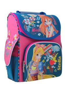 Рюкзак школьный каркасный 1 Вересня H-11 Winx mint, 33.5*26*13.5 (555188) [5056137119608]