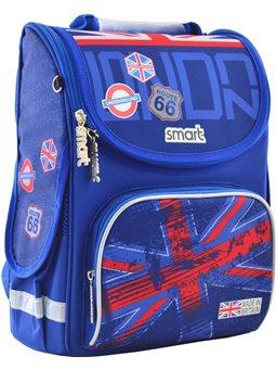 """Рюкзак школьный каркасный Smart PG-11 """"London"""" (555987) [5056137135950]"""