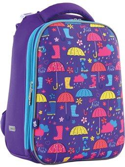 "Рюкзак школьный каркасный YES H-12 ""Umbrellas"" (556044) [5056137142460]"