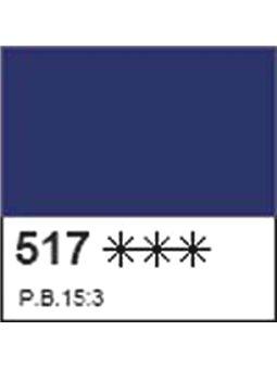 Краска акриловая ДЕКОЛА синяя темная, матовый, 50мл ЗХК (352056) [4690688005914]