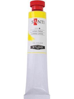 Краска масл. Santi Studio 60мл Кадмий лимонный №08 (351043) [5009073510435]