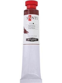 Краска масл. Santi Studio 60мл Охра красная №69 (351073) [5009073510732]