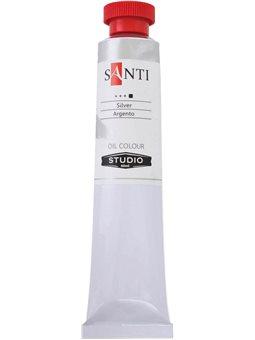 Краска масл. Santi Studio 60мл Серебро №89 (351111) [5009073511111]