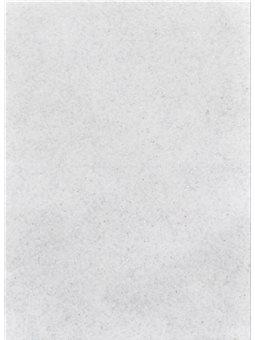 Набор Фетр Santi мягкий с глит., белый, 21*30см (10л) (741455) [5056137110056]
