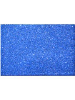 Набор Фетр Santi мягкий с глит., синий, 21*30см (10л) (741808) [5056137131938]