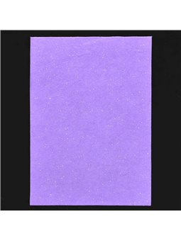 Набор Фетр Santi мягкий с глит., сиреневый, 21*30см (10л) (741453) [5056137110049]